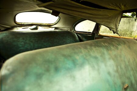 Grunge and hight rusty elements of old luxury car  Photo   Stock Photo - 13065765