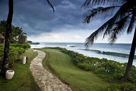 Amazing tropical landscape  Indonesia - Bali   photo