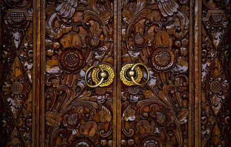 Entrance Door In Bali   photo