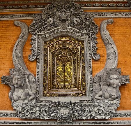 Entrance Door In Bali   photo