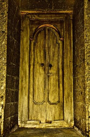 Entrance Door In Bali   Stock Photo - 13066531