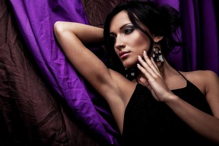 Portrait einer jungen Schönheit Close-up Photo