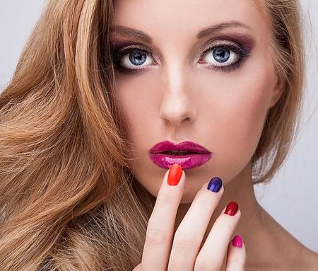Natürliche Gesundheit Schönheit einer Frau das Gesicht