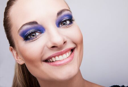 Natural health beauty of a woman face Stock Photo - 15577045