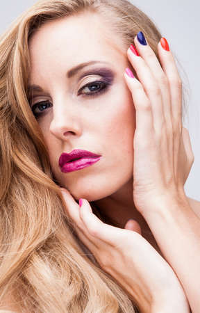 natural health and beauty: Natural health beauty of a woman face