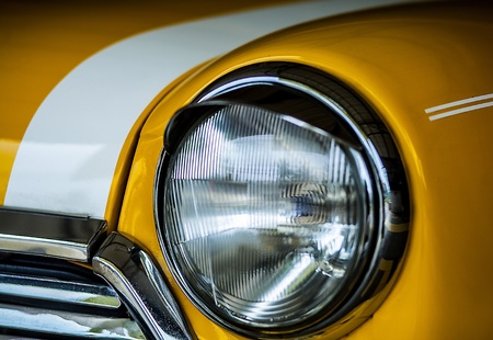 Classic yellow Mini Stock Photo - 19170854