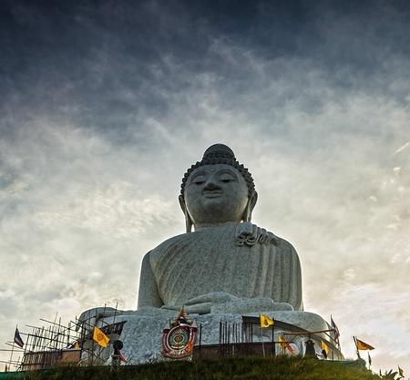 marmorate: Statua in marmo di Big Buddha a Phuket