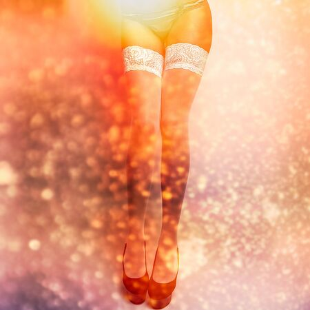 Close-up perfect woman legs  Stock Photo - 19302613