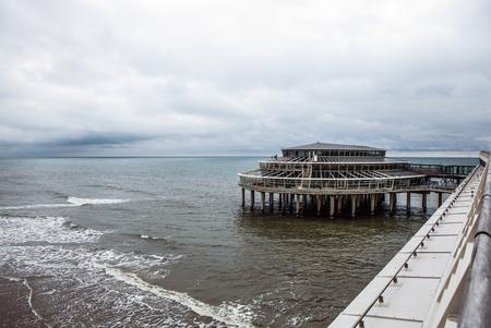 'the hague': Netherlands pier (the Hague - north sea).