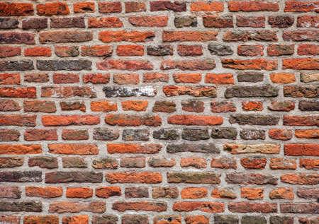 paredes de ladrillos: Fondo de la pared de ladrillo del grunge de edad.