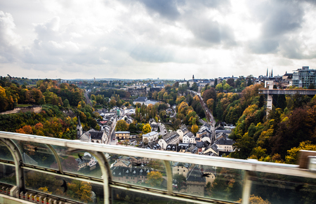 luxembourg: Cityscape of Luxembourg city
