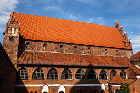warmia: Olsztyn castle, Warmia and Masuria, Poland. Editorial