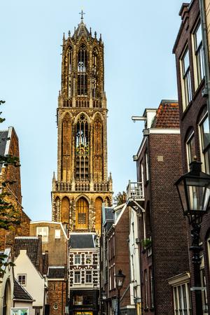 utrecht: Traditional European architecture. Utrecht - Holland.
