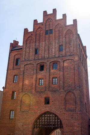 warmia: Olsztyn medieval city town hall, Warmia and Masuria, Poland.