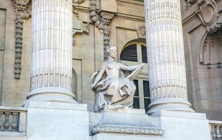 palais: PARIS, FRANCE - AUGUST 30, 2015: Famous Grand Palais in Paris. Editorial