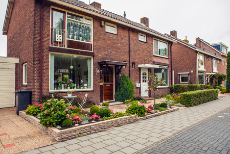 the netherlands: Traditional house. Amsterdam - Netherlands. Editorial