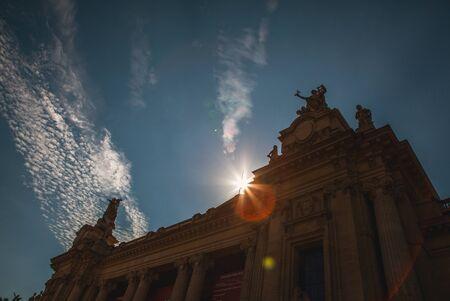 palais: PARIS, FRANCE - AUGUST 30, 2015: Famous Grand Palais (Big Palace) in Paris. Editorial