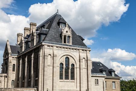 sacre: Basilica Sacre Coeur in Montmartre in Paris, France.