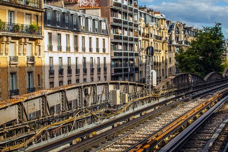 metropolitan: Paris metropolitan open area. Editorial