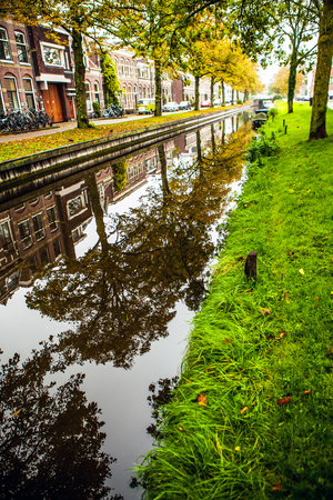 channel: River channel of Holland.