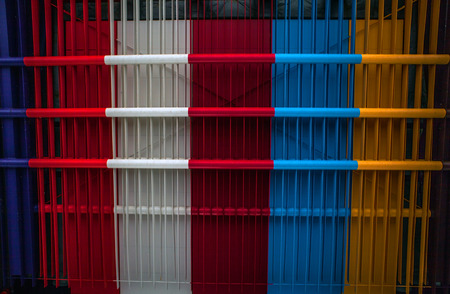 armoring: Metal multicolored background. Editorial