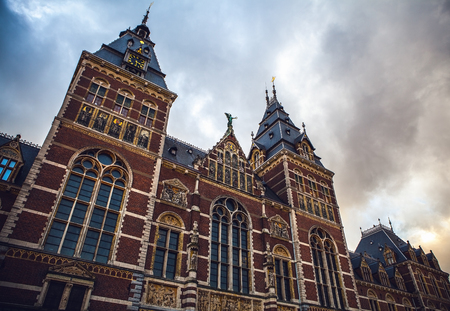 van gogh: The Rijksmuseum is a Netherlands national museum dedicated to arts and history in Amsterdam. The museum is located at the Museum Square in the borough Amsterdam South, close to the Van Gogh Museum.