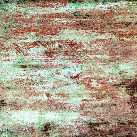 armoring: Old metal colorful background.