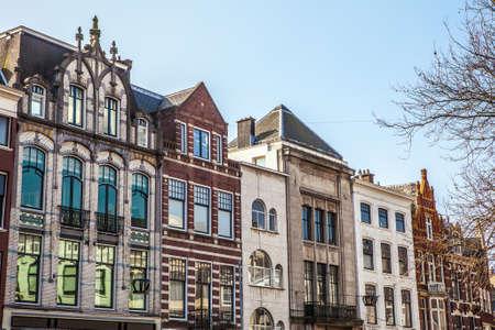 'the hague': Architecture of modern Hague (Den Haag) city center. Netherlands.