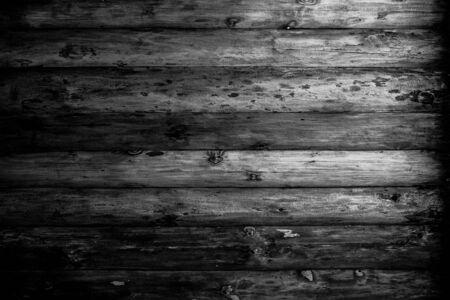 blackwhite: Wooden black-white grunge background.