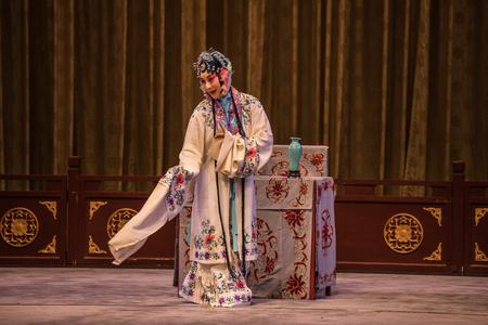 BEIJING, Ð¡HINA - JUNE 03: Traditional Chinese Opera at Beijing. 新聞圖片