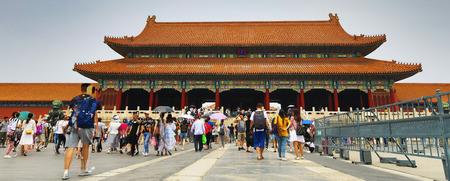 BEIJING, СHINA - JUNE 01, 2019: The Forbidden City, Beijing General view. 新聞圖片