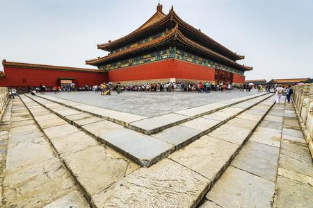 BEIJING, Ð¡HINA - JUNE 01, 2019: The Forbidden City, Beijing General view. 新聞圖片