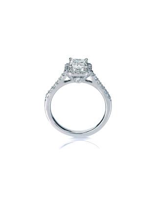 Schöne Diamant-Hochzeit-Band-Verlobungsring
