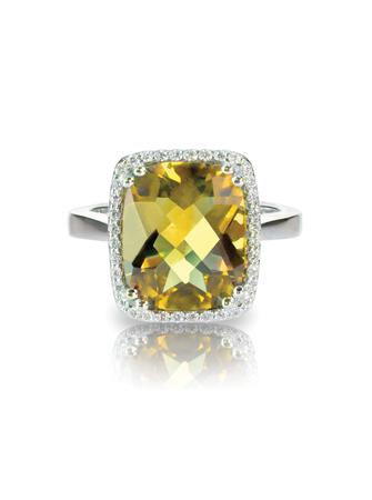 yellow diamond colored engagement ring topaz citrine