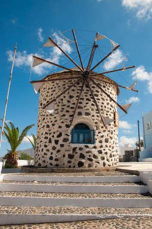 Greek windmill Imagens