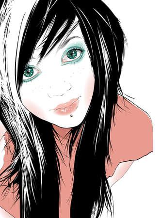 teenage girl: Teenage Girl