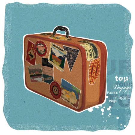 valise: Vintage Suitecase