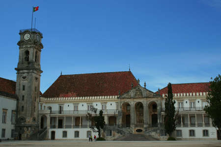 Panoramic of the university of coimbra area