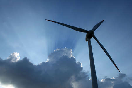Wind power turbine Stock Photo - 5090366