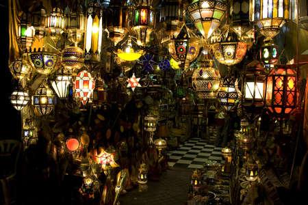 Un stock de mat�riel de foudre au Maroc