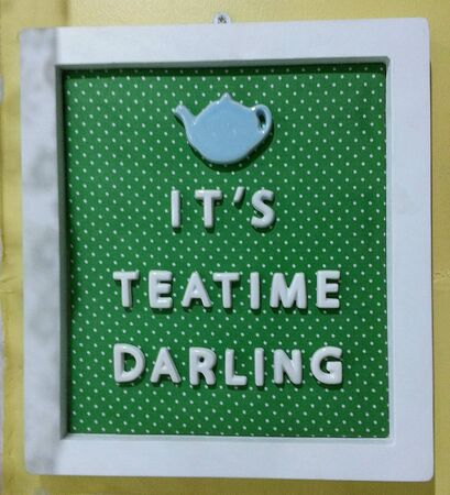 darling: Teatime with my darling