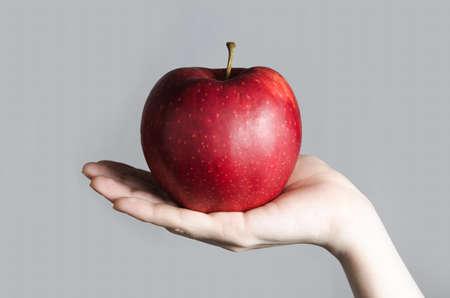 Red big apple