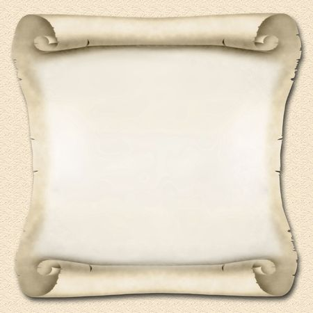 Blank Ancient Scroll 02 Stock Photo - 625552