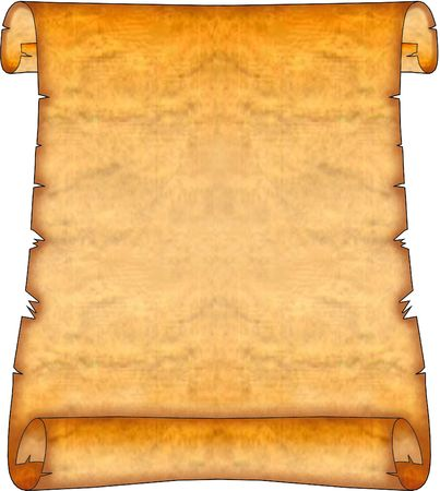Blank Ancient Scroll 06