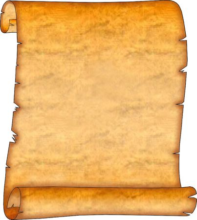 Blank Ancient Scroll 07