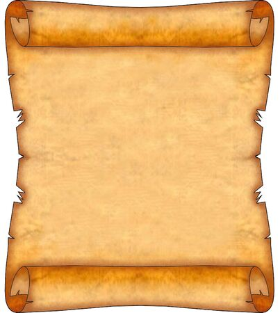 Blank Ancient Scroll 08