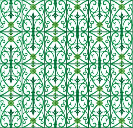 vector image of metal scoop  grating fence Reklamní fotografie - 4463940