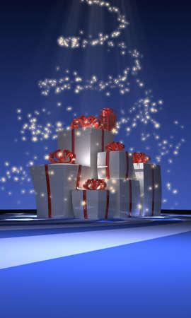 Holiday boxes  photo