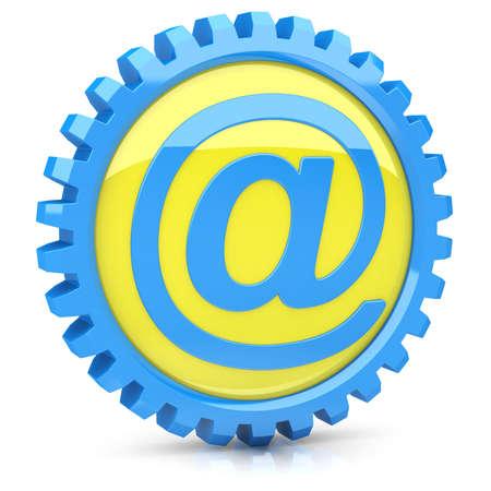 E-mail Icono Foto de archivo
