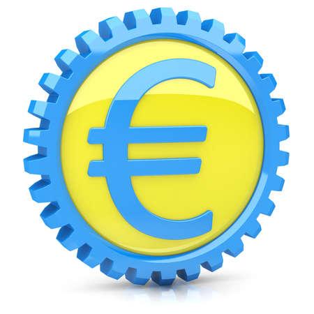 Euro icon  Stock Photo - 14259377